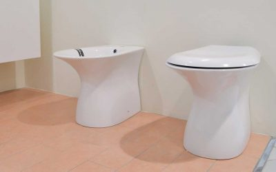 Bidet and vase with soft close seat