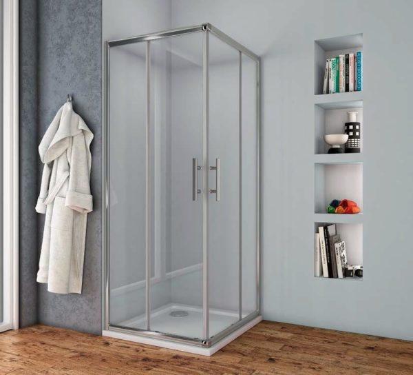 Box doccia in cristallo trasparente