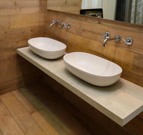 Top e doppio lavabo   Arcom Ak